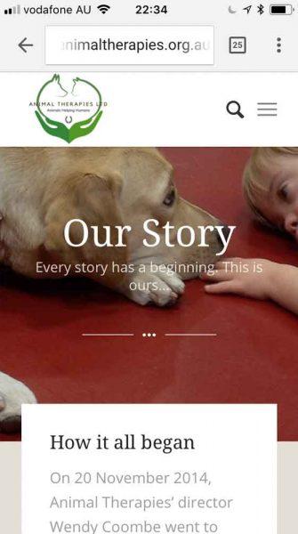 Mobile responsive website design Perth