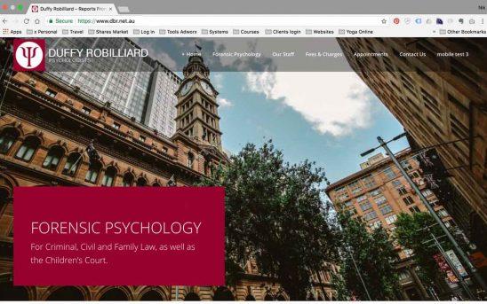 Psychology Website Makeover
